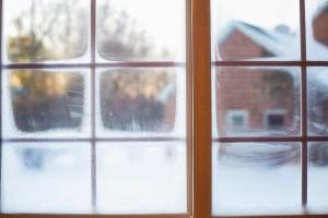 frost på vinduet