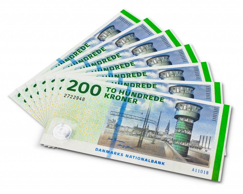 200 krs sedler